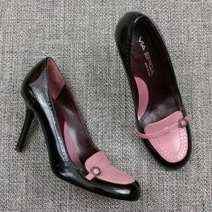 "Via Spiga Oxford 3.5"" Heels Size 6.5M"